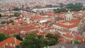 Prague de haut